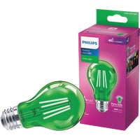 538249 Philips A19 Medium Indoor/Outdoor LED Decorative Party Light Bulb