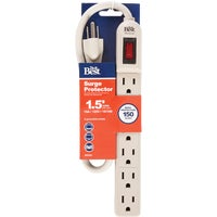 041351DB Do it Grounded 6-Outlet Surge Protector Strip 041351DB, Do it Grounded 6-Outlet Surge Protector Strip