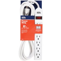 041404DB Do it Best Extra Reach 6-Outlet Power Strip 041404DB, 6-Outlet Extra Reach MultiOutlet Power Strip