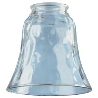 81277 Westinghouse Pebbled Clear Glass Shade glass shade