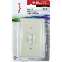 B2-S Wiremold On-Wall Switch Box Kit