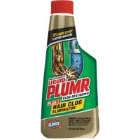 30708 Liquid-Plumr Pro-Strength Double Impact Liquid Drain Cleaner Snake and Gel System liquid plumr pro strengt