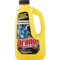 22118 Drano Commercial Line Max Gel Drain Cleaner Clog Remover 22118, 22118 Commercial Line Drano Max Liquid Drain Cleaner Clog Remover