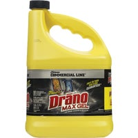 10109 Drano Commercial Line Max Gel Drain Cleaner Clog Remover 10109, 10109 Commercial Line Drano Max Liquid Drain Cleaner Clog Remover