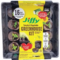 J616ST-11 Jiffy Greenhouse Seed Starter Kit With Superthrive