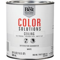 CS46W0840-44 Do it Best Color Solutions Latex Self-Priming Flat Ceiling Paint ceiling paint