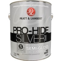 0000Z5589-16 Pratt & Lambert Pro-Hide Silver 5000 Latex Semi-Gloss Interior Wall Paint 0000Z5589-16, Pratt & Lambert Pro-Hide Silver 5000 Latex Semi-Gloss Interior Wall Paint