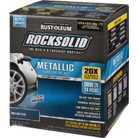 299745 Rust-Oleum RockSolid Metallic Floor Coating Kit coating floor