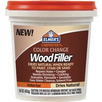 E914 Elmers Carpenters Color Change Wood Filler filler wood