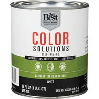 CS49W0701-44 Do it Best Color Solutions 100% Acrylic Latex Self-Priming Semi-Gloss Exterior House Paint CS49W0701-44, Do it Best Color Solutions 100% Acrylic Latex Self-Priming Semi-Gloss Exterior House Paint