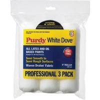 14B863000 Purdy White Dove 3-Pack Woven Fabric Roller Cover 14B863000, Purdy White Dove 3-Pack Woven Fabric Roller Cover