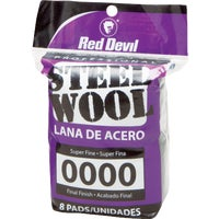 320 Red Devil 8-Pack Steel Wool devil red steel wool