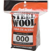 321 Red Devil 8-Pack Steel Wool devil red steel wool