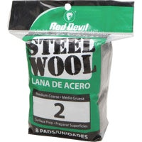 325 Red Devil 8-Pack Steel Wool devil red steel wool