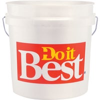 DIB2GL Do it Best 2 Gallon Plastic Pail DIB2GL, Do it Best 2 Gallon Plastic Pail