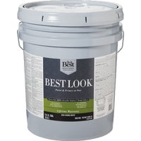 HW40W0850-20 Best Look 100% Acrylic Latex Paint & Primer In One Semi-Gloss Exterior House Paint best look