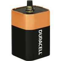 9006 Duracell CopperTop 6V Spring Terminal Alkaline Lantern Battery battery coppertop duracell lantern