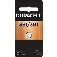42087 Duracell 381/391 Silver Oxide Button Cell Battery 42087, 42087 Duracell Silver Oxide Coin Watch Battery