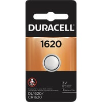 43687 Duracell 1620 Lithium Coin Cell Battery 43687, 43687 Duracell Lithium Coin Watch Battery
