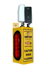 Look Out 1 - Rack Mount - Collision Awareness Look Out 1, Collision Awareness, Collision Safety, Safety Products, Forklift Safety, Warehouse Safety, Collision Awareness, Dock Safety, Dock Awareness, Hall Collision, Office Collision