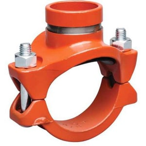 4 x 4 x 3/4 in. FIP Ductile Iron Mechanical Reducing Tee