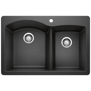1-3/4 Bowl Silgrainit II Sink Anthracite