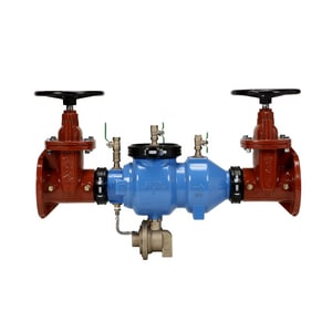 4 in. Epoxy Coated Ductile Iron Flanged 175 psi Backflow Preventer