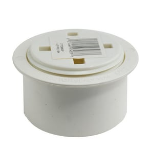3 in. Slip Schedule 40 PVC Adapter and Plug
