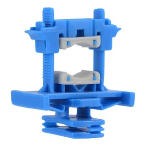 3/8 - 1 in. Plastic Copper Tube Size Strut Clamp With Isolation