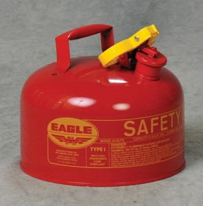 5 GAL TYPE II MTL SAF GAS CAN