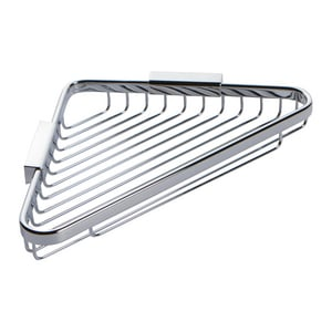 11-11/16 x 9 in. Deep Corner Basket in Polished Chrome