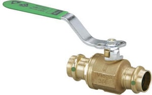 2 in. Bronze Full Port Press Ball Valve