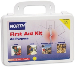 4029459-FG Honeywell 25-Person Plastic General Purpose First Aid Kit