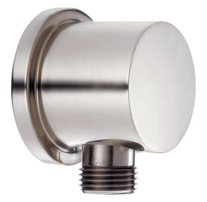 Wall Connection R1 Supply Elbow in Brushed Nickel
