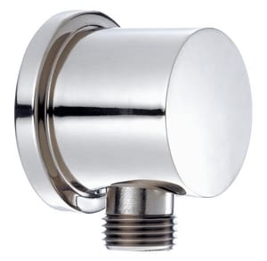 Wall Connection R1 Supply Elbow in Polished Chrome