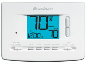 1H/1C 7 Programmable Digital Thermostat