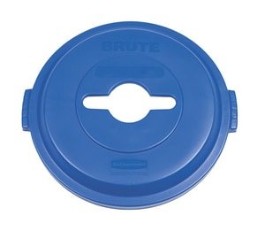 32 gal Recycling Container Lid in Blue