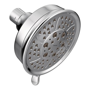 4-Function Spray Head Standard Showerhead in Polished Chrome