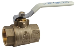 2-1/2 in. Brass Full Port Solder 400# Ball Valve