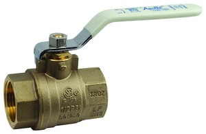 1/2 in. Brass Full Port Solder 600# Ball Valve