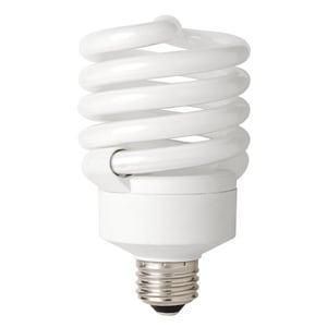 32W T3 Compact Fluorescent Light Bulb with Medium Base