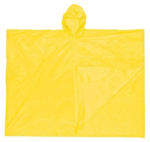 One Size Fits All Raincoat in Yellow