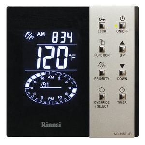 Tankless Water Heater Timer Control for Rinnai RUR98e Ultra Series Tankless Water Heater