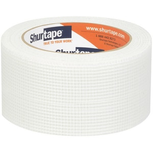 3 in. x 150 ft. Meh Cloth Tape in White