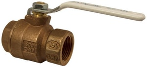 1 in. Bronze Full Port NPT 600# Ball Valve