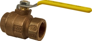 1/4 in. Bronze Full Port NPT 600# Ball Valve