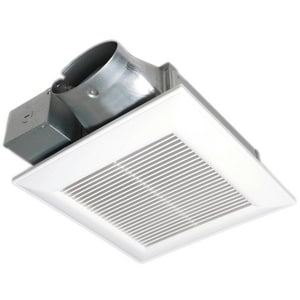 100 cfm Ceiling or Wall Mount Fan