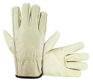 XL Size Safety Corp Leather Driver Gloves