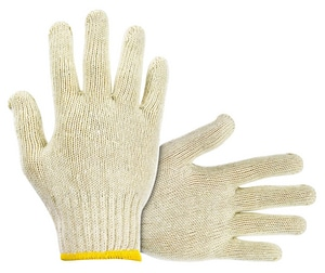 One Size Fits All String Knit Gloves