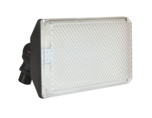 4 in. Outdoor LED Flood Light in Black